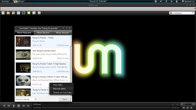 Instale o UM Player no Ubuntu