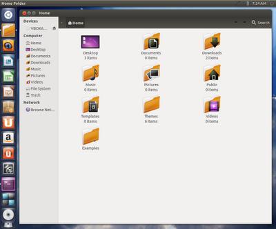 Temas de ícones Kalahari para Ubuntu