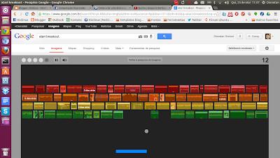 Jogue o Atari Breakout no Google Images