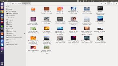 Como criar uma distro Linux baseada no Ubuntu parte 7: Adicionando novos Wallpapers ao Ubuntu