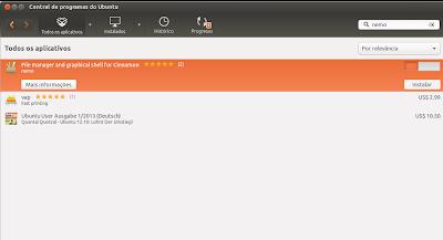 Nemo e Cinnamon agora fazem parte do Repositório Oficial do Ubuntu 13.04 e 13.10