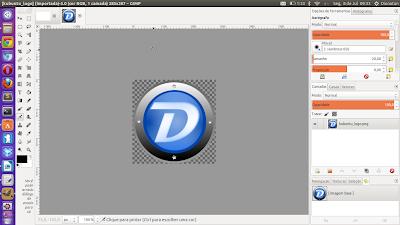 Como ter a aparência do Photoshop no GIMP com ícones monocromáticos e organização visual