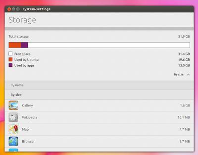 System-Settings do Ubuntu recebe atualizações visuais - Mockup