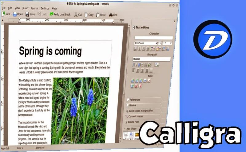 Como instalar a suíte Office Calligra 2.5 no Ubuntu