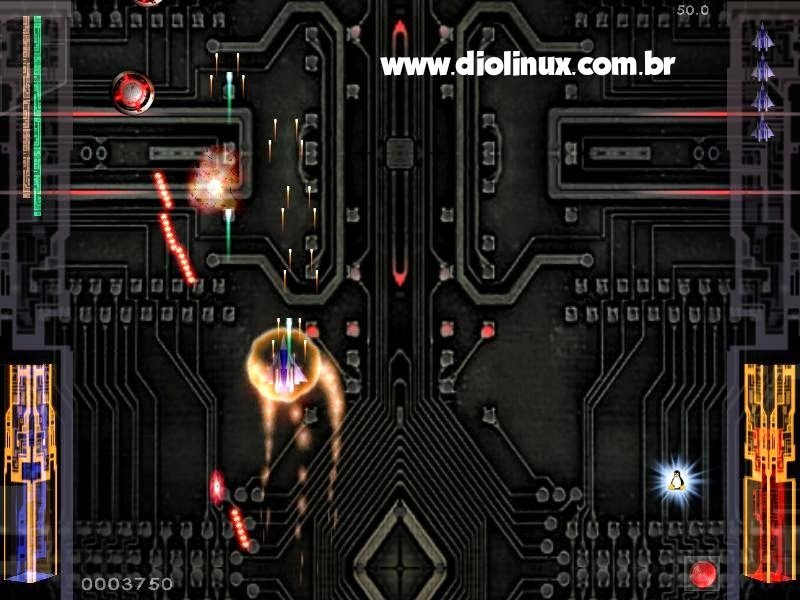 Chromium-B.S.U. - Um game de nave para Ubuntu Linux