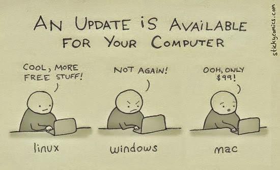 Por que os programas de Linux são mais leves e estáveis que os do Windows