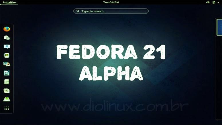 Lançado Fedora 21 Alpha com Gnome 3.14