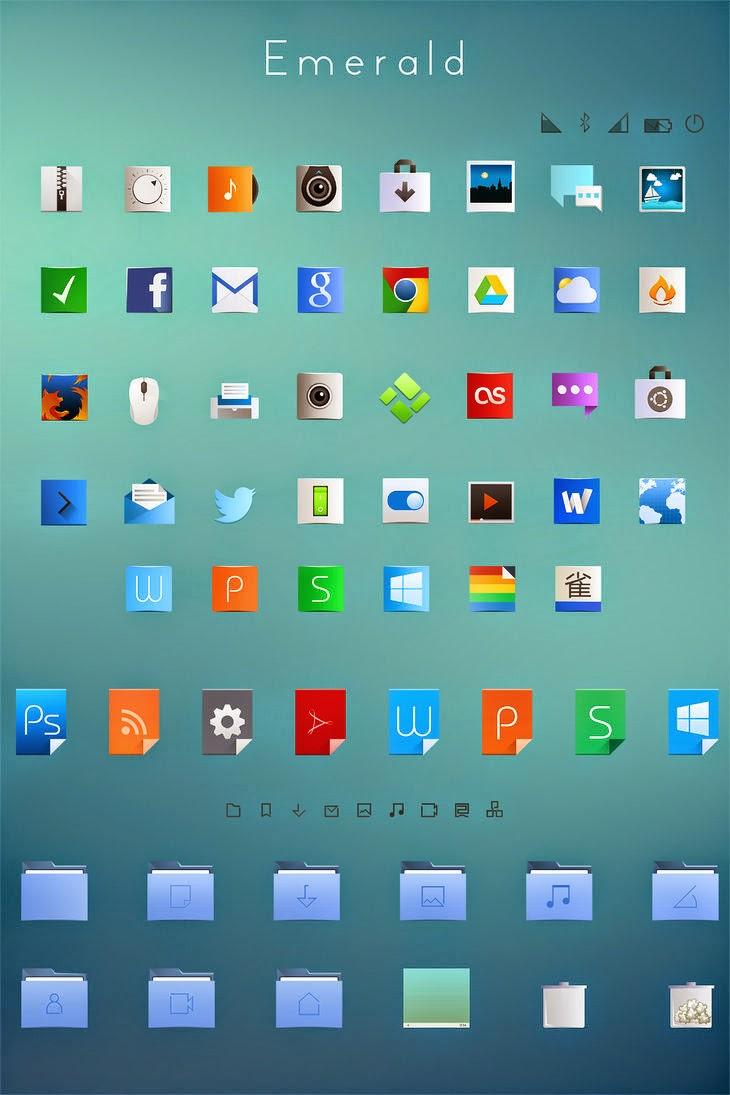 Emerald Theme para Ubuntu (Flat+Breeze)