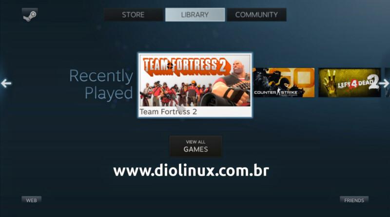 Instale uma sessão Steam OS no seu Ubuntu