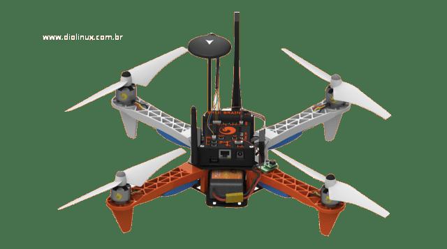 Erle-Copter - O primeiro drone do mundo com Apps roda Ubuntu