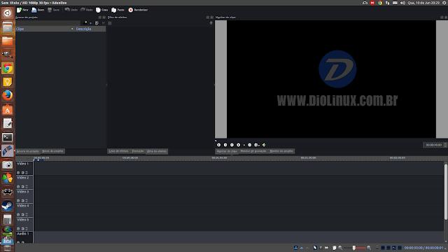 Kdenlive com temas escuros, veja como mudar a aparência do editor de vídeos