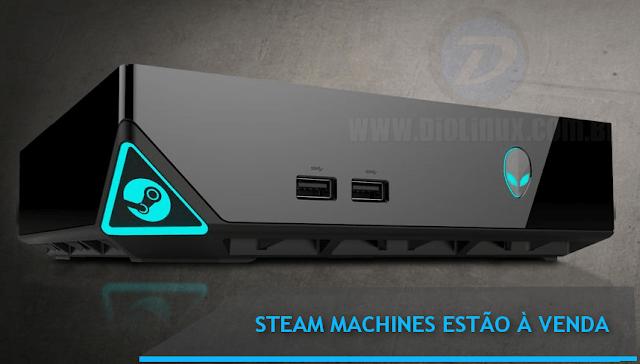 As primeiras Steam Machines estão em pré-venda!