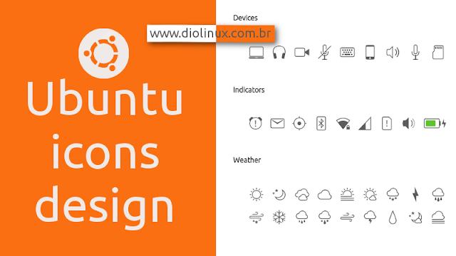 Conheça o novo Design de ícones do Ubuntu