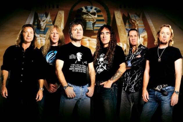 Iron Maiden escolhe locais de shows pela pirataria de suas músicas
