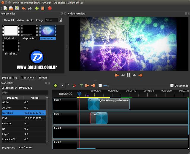 OpenShot 2.0 virá com mudanças extremas e suporte para Windows e Mac OSX