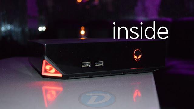 Compacta e potente: Veja o interior de um Steam Machine da Alienware