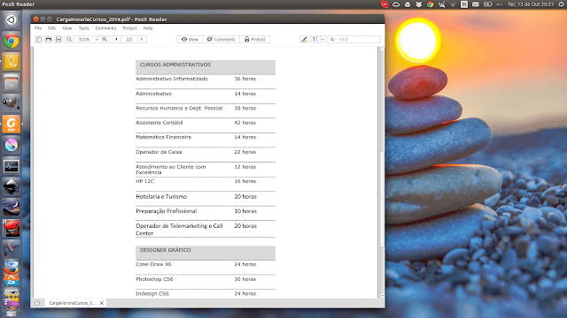 Como instalar o leitor de PDFs Foxit Reader no Linux