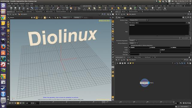 Houdini: Software de composição, animação e efeitos especiais 3D para Linux