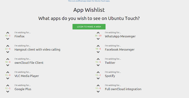 Quais Apps você quer no Ubuntu Touch?