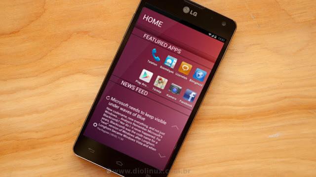 Ubuntu Touch está sendo portado para o LG Optimus G