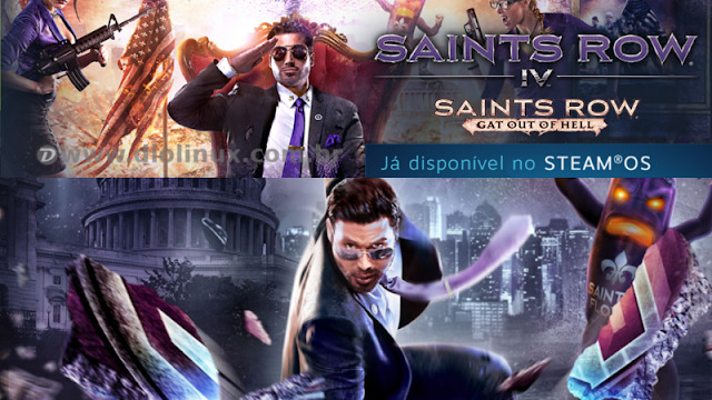Lançado Saints Row IV para Linux com promoção na Steam