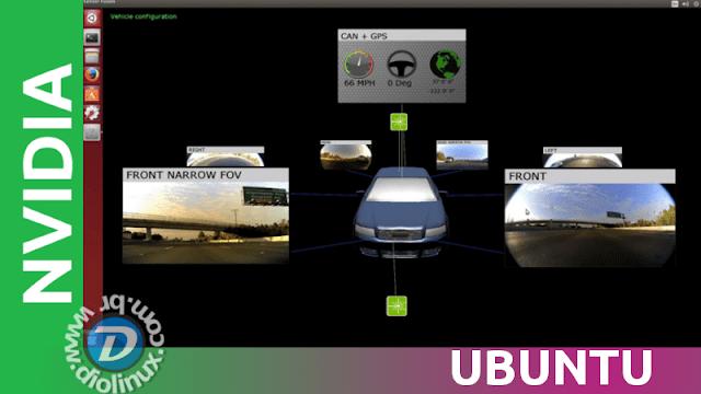 Nvidia usa o Ubuntu para apresentar o Nvidia DriveWorks