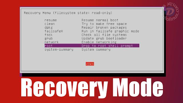 Conheça o modo Recovery do Linux de uma maneira simples