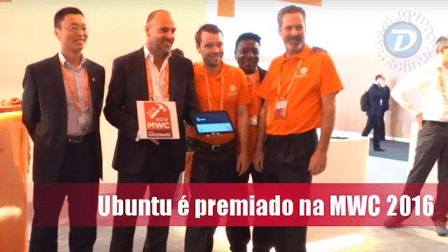 """Ubuntu recebe 3 prêmios de """"melhor da MWC 2016"""""""