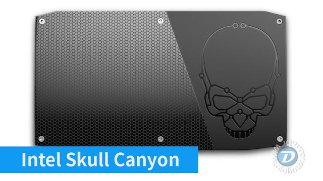 Skull Canyon é o novo NUC da Intel voltado para games com a potência do XBox One e do PS4