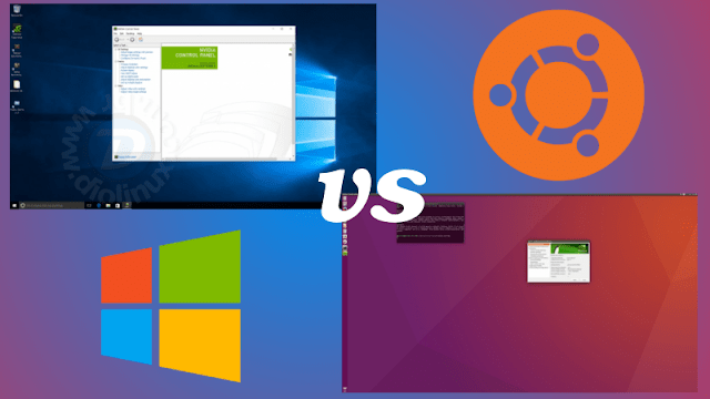 Windows 10 vs Ubuntu 16.04