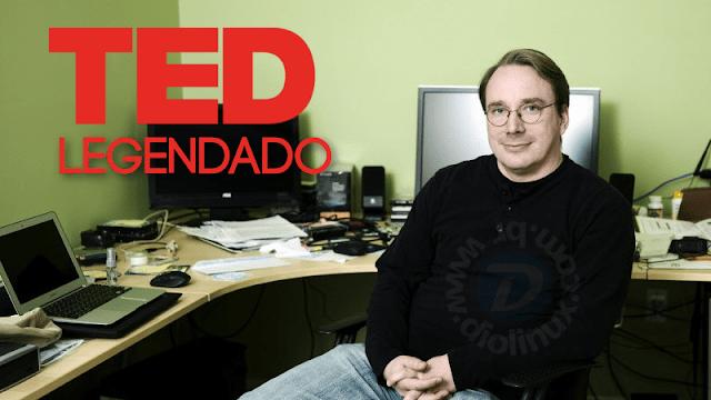 Assista a entrevista de Linus Torvalds no TED legendada
