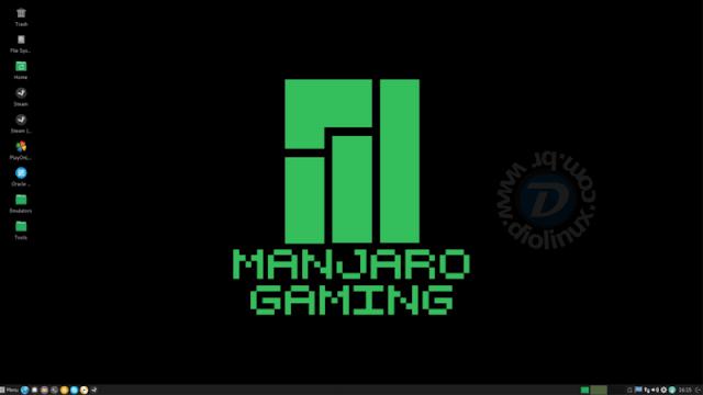 Manjaro Linux terá uma versão destinada para gamers