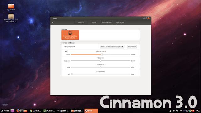 Como instalar o Cinnamon 3.0
