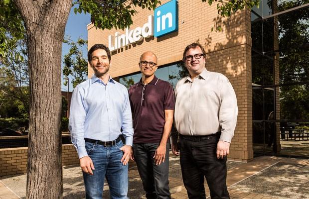 Microsoft compra o LinkedIn