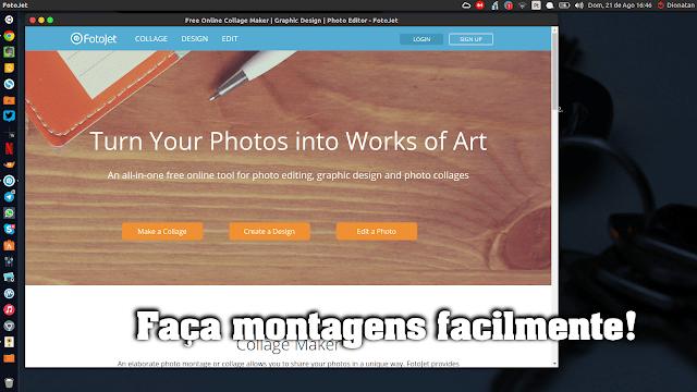 FotoJet - Uma maneira simples e fácil de fazer montagens com as suas fotografias
