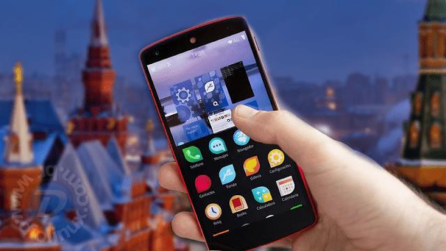 A Rússia está desenvolvendo um novo sistema mobile baseado em Linux