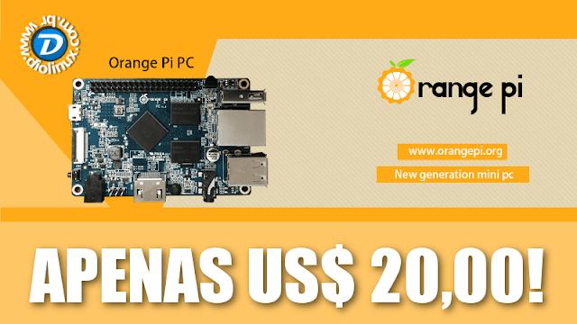 Conheça o computador de 20 Dólares que roda o Ubuntu