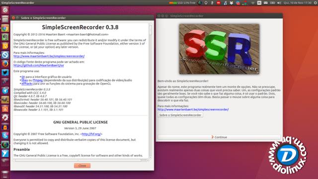 Lançada nova versão do Simple Screen Recorder para Linux