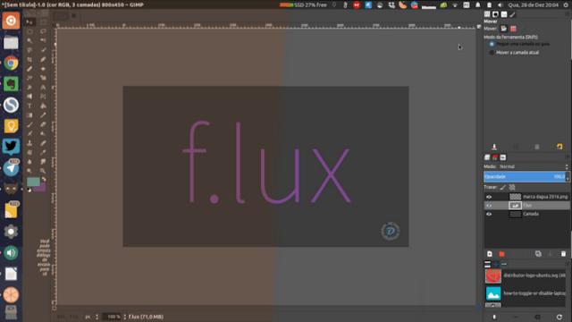 F.LUX - Regule o brilho e a temperatura do monitor do seu computador automaticamente