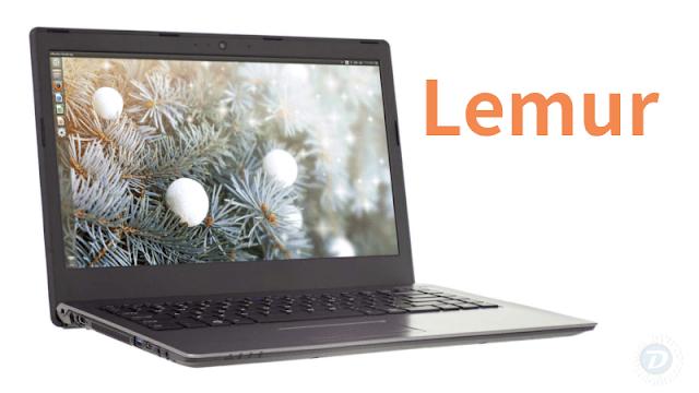 Lemur é o novo Notebook com Ubuntu com processador Kaby Lake