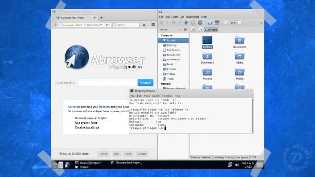 Trisquel, a distribuição Linux