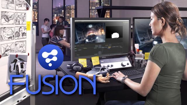 Fusion - Um compositor de vídeo profissional para Linux