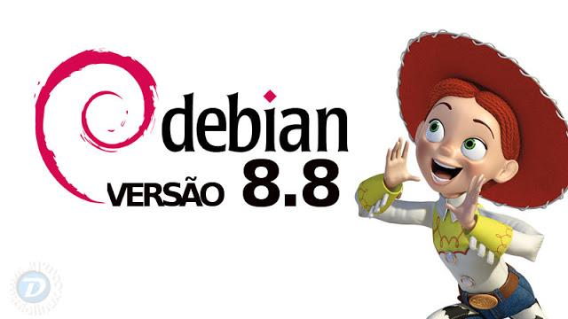 Debian 8.8 está disponível, faça o download!