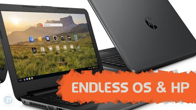 Endless fecha parceria com HP para vender Endless OS em Notebooks no Brasil