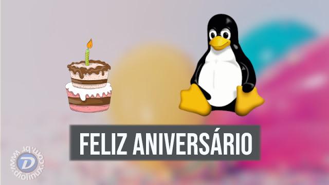 Feliz Aniversario Linux