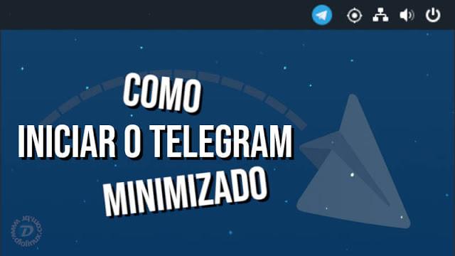 Como iniciar o Telegram minimizado