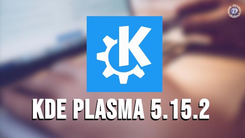 KDE Plasma 5.15.2 é lançado apenas uma semana após o primeiro patch de correções