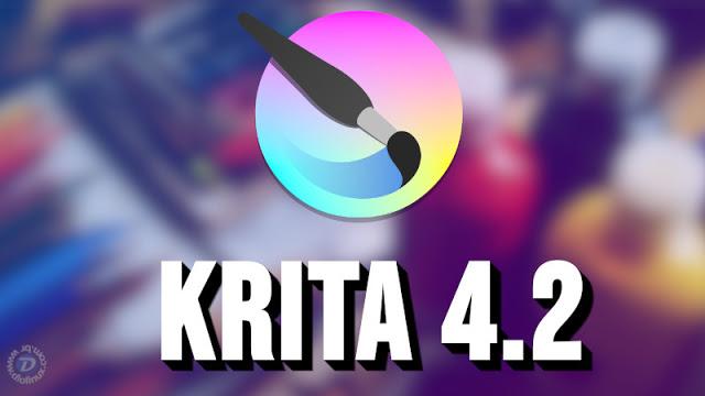 Krita 4.2 é lançado com mais de 1000 bugs corrigidos e novos recursos