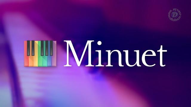 Minuet, uma ferramenta incrível para educação musical