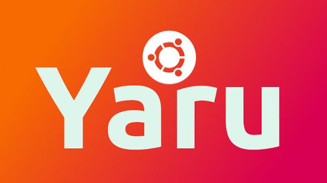 Atualização no tema Yaru